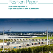 Spatial integration of high-voltage lines and substations