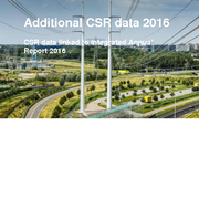 Additional CSR data 2016