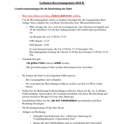 Guidelines Calculation file