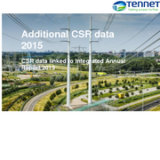 Additional CSR data 2015