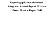Reporting Guidance Document 2019