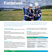 Factsheet incident investigation contractors