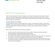 Monitoring and Reporting System