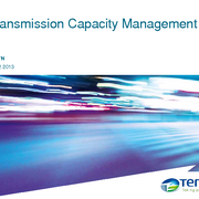 Transmission Capacity Management