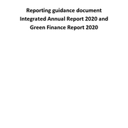 Reporting Guidance Document 2020