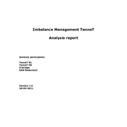 Imbalance management analysis TenneT