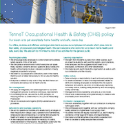 TenneT OHS Policy
