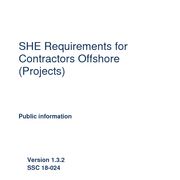 SHE Requirements for Contractors Offshore (Projects and O&M NL)