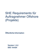 Operational SHE requirements for contractors – Offshore (DE)