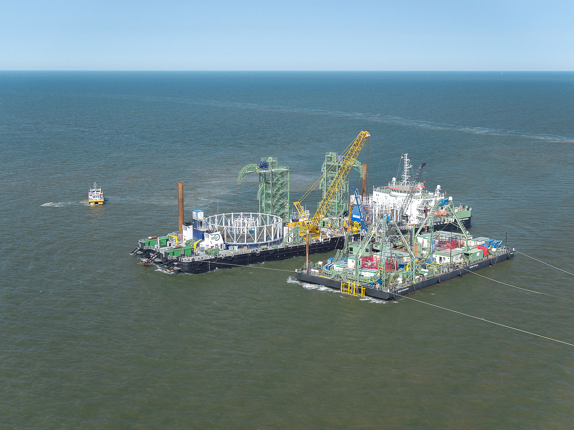 TenneT begins laying the NordLink subsea cable in the German